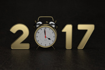 New Year - 3D Rendering Image
