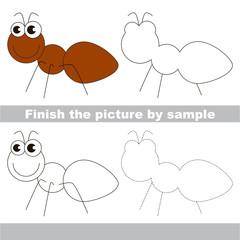 Ant. Drawing worksheet.