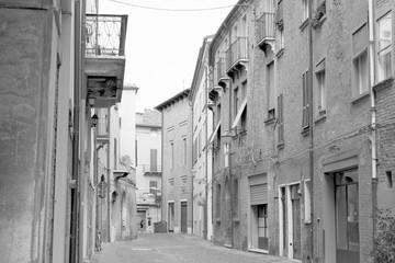Ferrara in bianco e nero - Emilia Romagna
