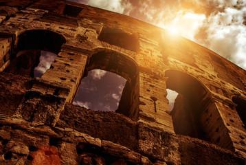 Fototapete - Colosseum (Coliseum) in Rome