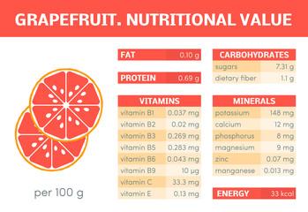 Orange vector infographic