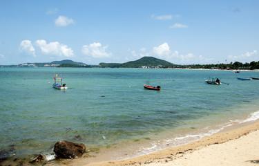 The fishing boats