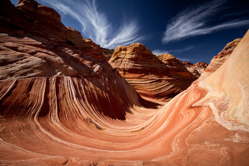 Landscape of the Wave, Coyote Buttes North
