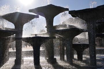 Gdynia - fontanna na Skwerze Kościuszki