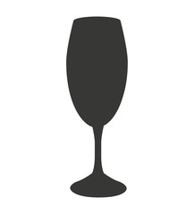 cocktail glass isolated icon