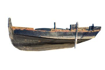 fishing boat Isolated on white background