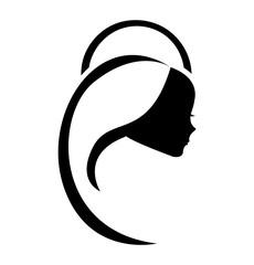 virgin mary cute icon