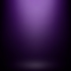 Wall Mural - Abstract purple gradient background. Used as background for product display - Vector