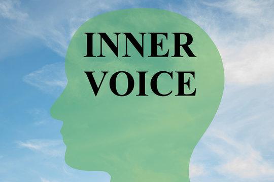 Inner Voice - mental concept