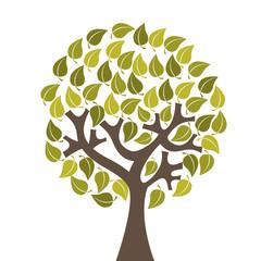 tree ecology symbol icon