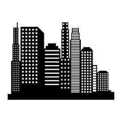 new york cityscape icon