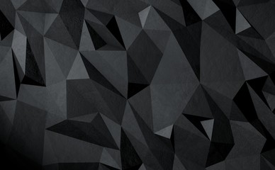 3d low polygon background