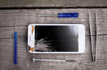 Phone for repairing
