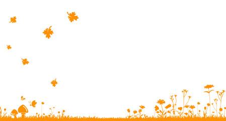 Wiese Herbst