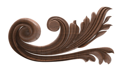 pattern wood carving