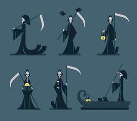 The grim reaper.