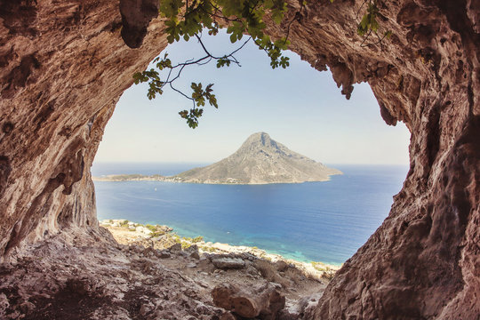 Kalymnos Island, Greece.