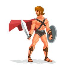 the gladiator.