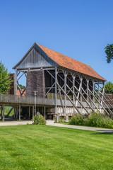 Old building of the Saline Gottesgabe in Bentlage