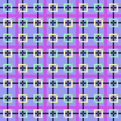 pattern squares colors purple
