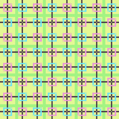 pattern squares colors