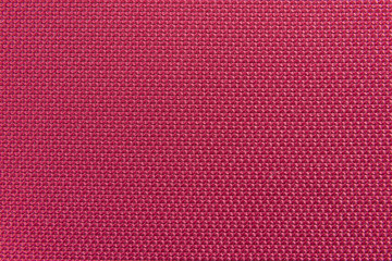 The red carpet background in meeting room.The texture of red fabric