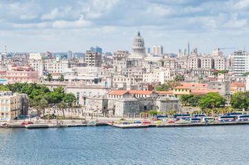 Garden Poster Havana View of the cityscape in Havana, Cuba