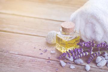 Spa still life mit Lavendel