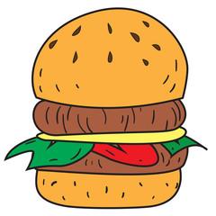 Big Burger Doodle