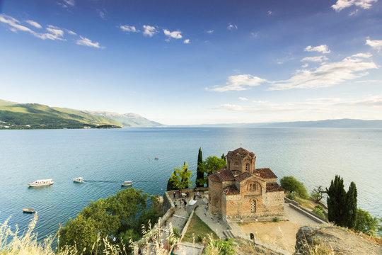 Church of Saint Johan at Lake Ohrid - Macedonia