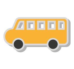 bus school toy icon
