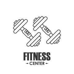Healthy lifestyle and Fitness concept represented by weight icon. Isolated and flat illustration.