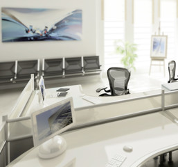 Modern Office Conception (focused)