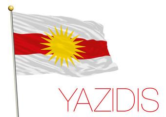 yazidis flag