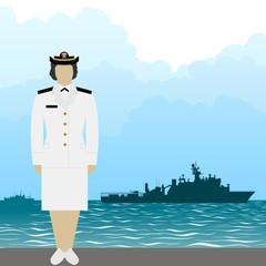 Navy US Army officer-1
