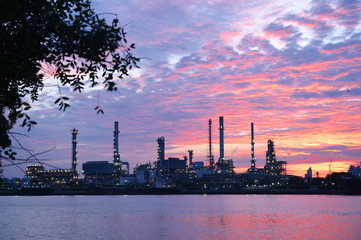 Oil refinery industry, Thailand