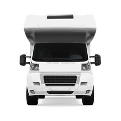 RV Caravan Isolated