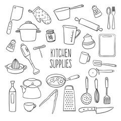 Sketchy kitchen supplies