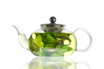 чай голубого цвета