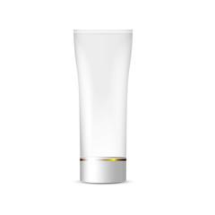 Blank White Tube of cream, packaging