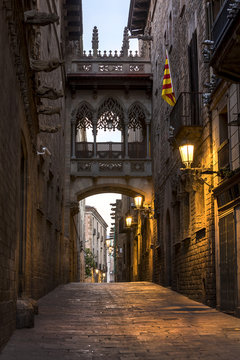 Spain, Barcelona, Barri Gotic