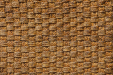 Retro woven wood for pattern and background