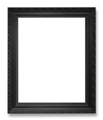 Black Old picture frame