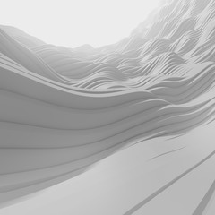 Abstract grey 3D background