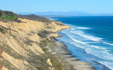 Seaside Cliff - Ocean scene from the popular California destination