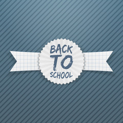 Back to School realistic Tag