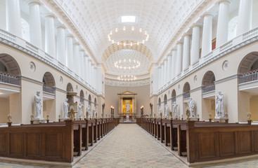 Vor Frue Cathedral in Copenhagen, Denmark