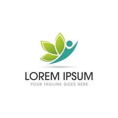 Healthy Floral Logo