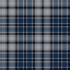 Blue diagonal check plaid seamless fabric texture