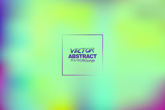Colorful smooth gradient color Background Wallpaper. Abstract colored toxic blurred background. Vector EPS10.